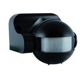 ANCO Mozgásérzékelő függőlegesen állítható 180°, fekete, max. 12 m, 10 sek - 12 min, 230 V~, 50 Hz, 1200 W (300 VA), IP44
