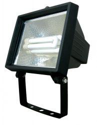 LANDLITE FL-F118-24W, 1X24W 118mm/R7s, fényvető / reflektor (kompakt fénycső mellékelve), fekete