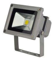LANDLITE LED-FL-10W, LED Reflektor / LED Fényvető, 4000K hideg fehér, szürke