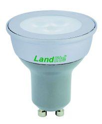LANDLITE LED-GU10 3x1.0W melegfehér, LED izzó GU10 foglalattal