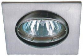 LANDLITE DL-53A, max 50W, billenthető, egyes beépíthető lámpa,  króm