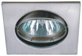 LANDLITE DL-53A, max 50W, forgatható kivitel, egyes beépíthető lámpa, matt króm