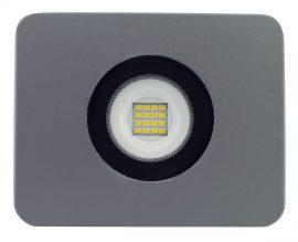 LANDLITE LED-FL-20W/MCL, 3000K meleg fehér,  szürke, 20W LED Reflektor / LED Fényvető