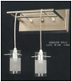 LANDLITE V2056/2W, modern fali lámpa 2xG9 230V