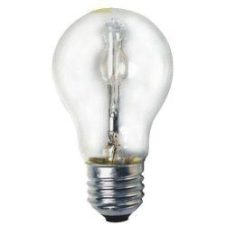 LANDLITE Halogén, E27, 28W, A55, 370lm, 2800K, körte formájú fényforrás (HSL-A55-28W)