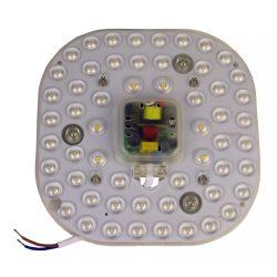 LANDLITE LED-MZ001-165B-24W, 3000K meleg fehér, Átalakító LED modul lámpa fali és mennyezeti lámpatestekhez