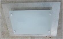 LANDLITE V22115/3C, modern mennyezeti lámpa 3xE14 40W 230V