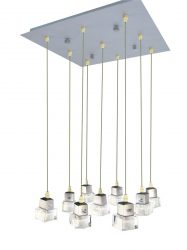 LANDLITE SOLAR-9PIN modern függesztett lámpa 9xGU10 50W 230V