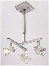 LANDLITE SOLAR-3PT1 modern mennyezeti lámpa 3xGU10 50W 230V