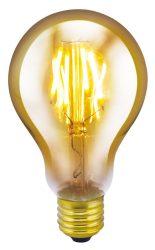 LANDLITE RUB-A75-4W/FLT E27, 1700K , dekoratív LED izzó