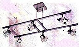 LANDLITE SOLAR-6PH1 modern mennyezeti lámpa 6xGU10 50W 230V