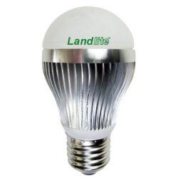 LANDLITE LED, E27, 5W, A50, 150lm, 2800K, körte formájú fényforrás (LDM-A50-5W)