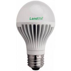 LANDLITE LED, E27, 5W, A60, 280lm, 3000K, körte fényforrás (LDM-A60-5W)