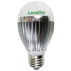 LANDLITE LED, E27, 8W, A55, 220lm, 2800K, körte formájú fényforrás  (LDM-A55-8W)