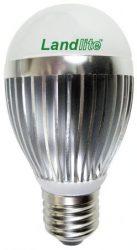 LANDLITE LDM-A55-8W 230V E27 melegfehér, LED izzó