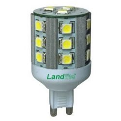 LANDLITE LED, G9, 5W, 300lm, 3000K fényforrás (LED-G9-5W)