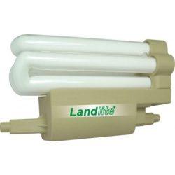 LANDLITE Energiatakarékos, R7s, 118mm, 24W, 1450lm, 2700K, SZABÁLYOZHATÓ, U csöves, vonal fényforrás (F118-24W/D)