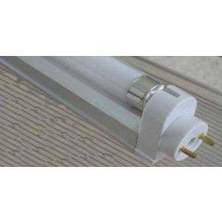 LANDLITE FC28T5, 1x T5-28W, T8 / T5 adapter (T8 36W helyett, a hagyományos előtétű lámpatestben)