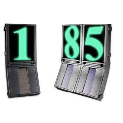 LANDLITE SY-B239 Napelemes, világító LED házszámtábla
