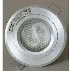 LANDLITE Egyes keret, GU5.3 (MR16) / GU10, fix, vastag alumímium, max. 50W, spot keret (DL-26004)