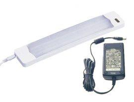 LANDLITE UCC-106-2, 12V-os 6W hideg katód fénycsővel szerelt szekrény lámpa +  18W DSA tápegység