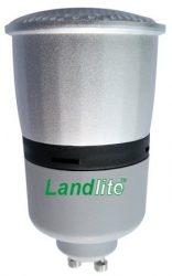 LANDLITE CFL-GU10 13W  szabályozó nélkül  100%-70%-30% 3 lépésben szabályozható,   kompakt fénycső (energiatakarékos izzó)