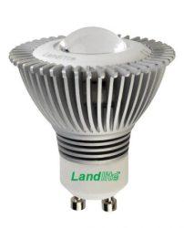 LANDLITE LED-GU10/1 4W 230V melegfehér, szabályozható,  LED izzó