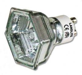 LANDLITE 230V halogén izzó, MRG-C 230V GU10 HEXAGON(hatszögű) 50W