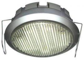 LANDLITE DL-GX53-9W, 1db 230V 9W GX53 kompakt fénycső (energiatakarékos izzó), ezüst, beépíthető típus, szekrény alatti lámpa