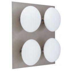 LANDLITE TRIVENI WL320-4R, 4x40W G9, IP44, matt króm, fürdőszobai lámpa