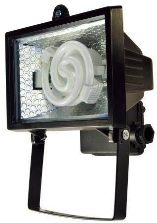 landlite fl f78 9w 1x9w 78mm r7s reflektor energiesparlampe enthalten schwarz willkommen. Black Bedroom Furniture Sets. Home Design Ideas