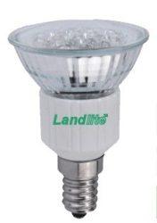 LANDLITE LED-JDR/60 E14 230V 4W melegfehér LED izzó