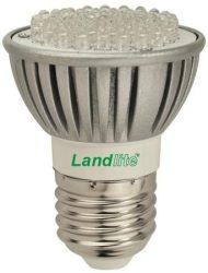 LANDLITE LED-JDR/60 E27 230V 4W melegfehér LED izzó