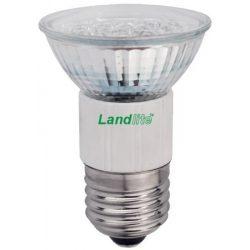 LANDLITE LED, E27, 4W, 180lm, 3000K, spot formájú fényforrás (LED-JDR/60)