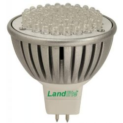 LANDLITE LED, GU5.3/MR16, 4W, 300lm, 2800K, spot fényforrás (LED-MR16/21)