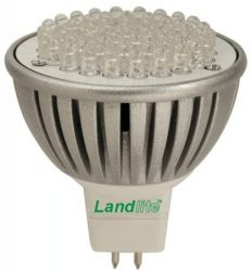 LANDLITE LED-MR16/21 4W, GU5.3 12V, melegfehér, LED izzó