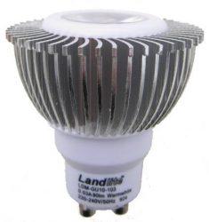 LANDLITE LED-GU10-103 1x3W 230V meleg fehér LED izzó
