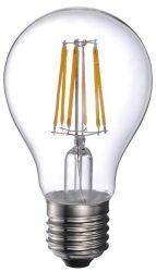 LANDLITE LED-A60-8W/FLT E27, 2700K, filament retro LED izzó