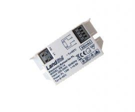 LANDLITE EB-14  Elektronikus előtét,  1x PL 13W 4 Pin G24q-1  kompakt fénycsőhöz