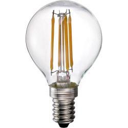 LANDLITE LED filament, E14, 4W, G45, 400lm, 2700K, kiskömb formájú fényforrás (LED-G45-4W/FLT)