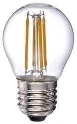 LANDLITE LED-G45-4W/FLT E27, 2700K, filament retro LED izzó