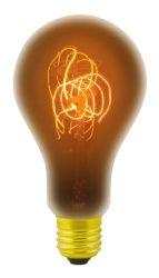 LANDLITE RUB-A75-60W/23A E27 2100K, dekoratív izzólámpa
