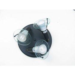 LANDLITE CLR-300 spotlámpa R50 3xE14 40W 230V fekete