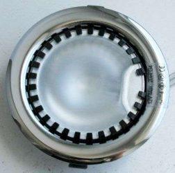 LANDLITE DL-08, 1xJC max 20W 12V G4 halogén izzó, fix kivitel, egyes beépíthető lámpa, króm
