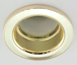 LANDLITE DL-610, 1X230V R50 E14 max 40W, fix kivitel, egyes beépíthető lámpa, arany