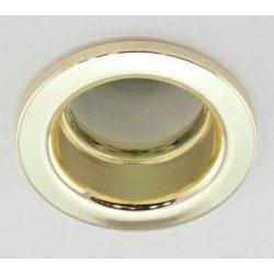 LANDLITE Egyes keret, E27-R80, fix, egyenes, fehér, max. 100W, spot keret (DL-630)