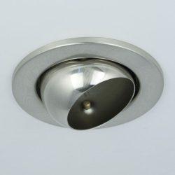 LANDLITE DL-710, 1X230V R50 E14 max 40W,billenthető, egyes beépíthető lámpa, króm