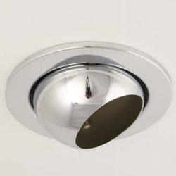 LANDLITE DL-720, 1X230V R63 E27 max 60W, billenthető, egyes beépíthető lámpa, króm