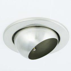 LANDLITE DL-720, 1X230V R63 E27 max 60W,billenthető, egyes beépíthető lámpa,matt króm