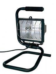 LANDLITE FLP-500, 1X500W 118mm R7s halogén reflektor / fényvető, hordozható, fekete